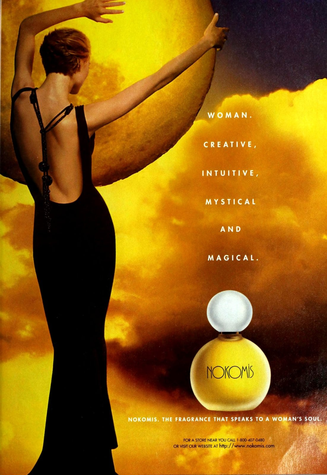 Nokomis fragrance (1995) at ClickAmericana com