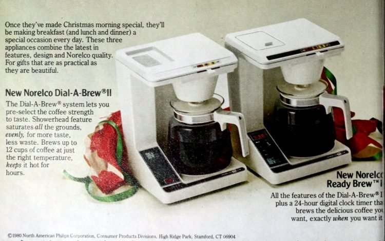 Norelco coffee maker - Dial-A-Brew II (1980)