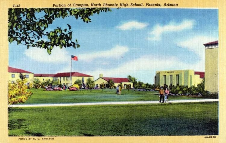 North Phoenix High School - Arizona in the 40s
