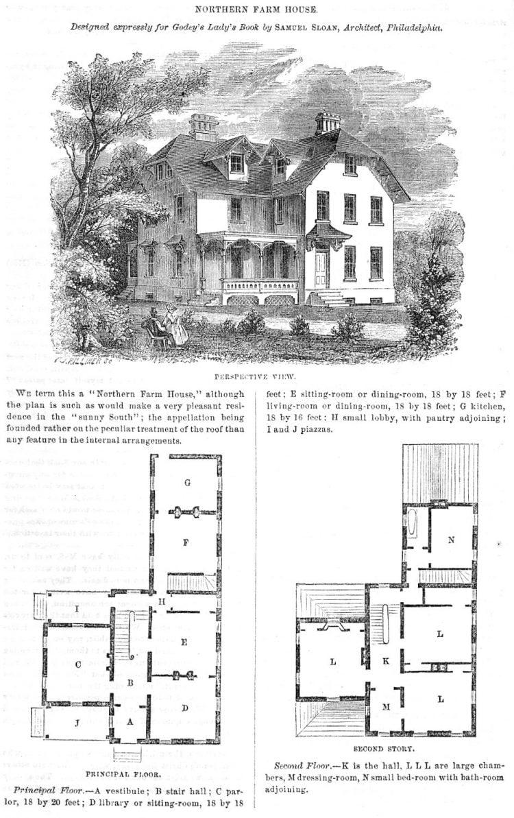 Northern farm house (1862)