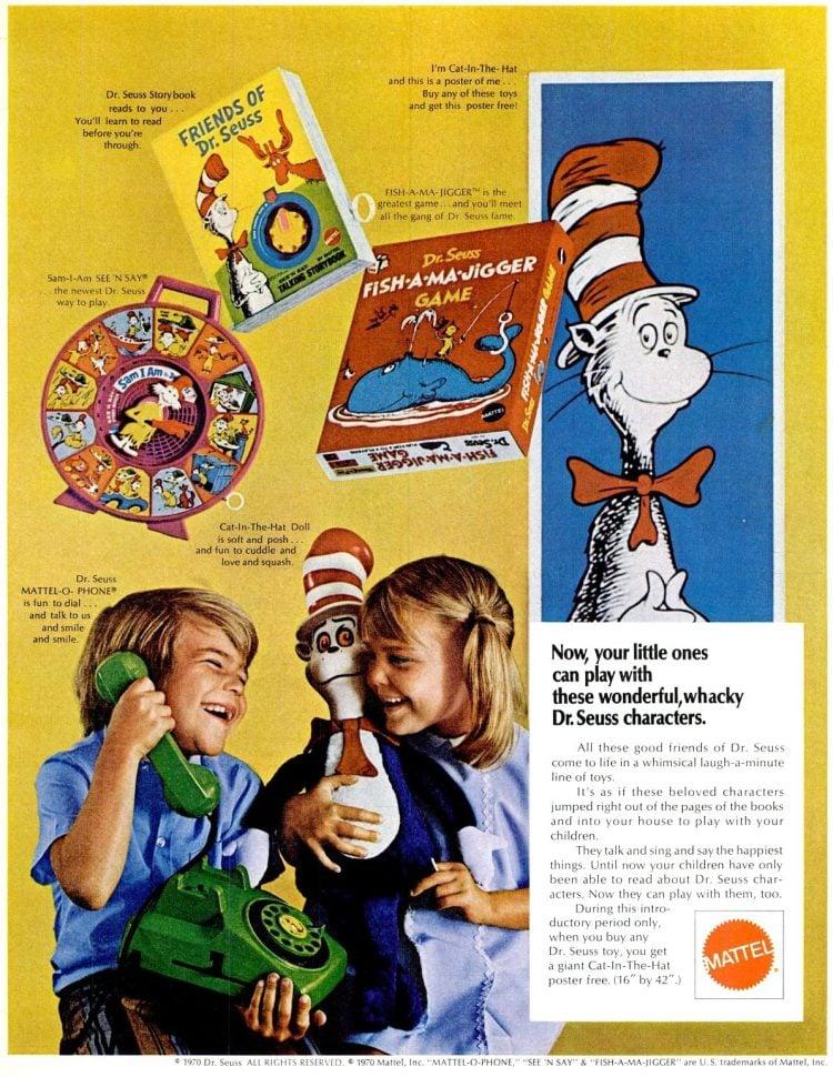 Nov 13, 1970 Dr Seuss toys