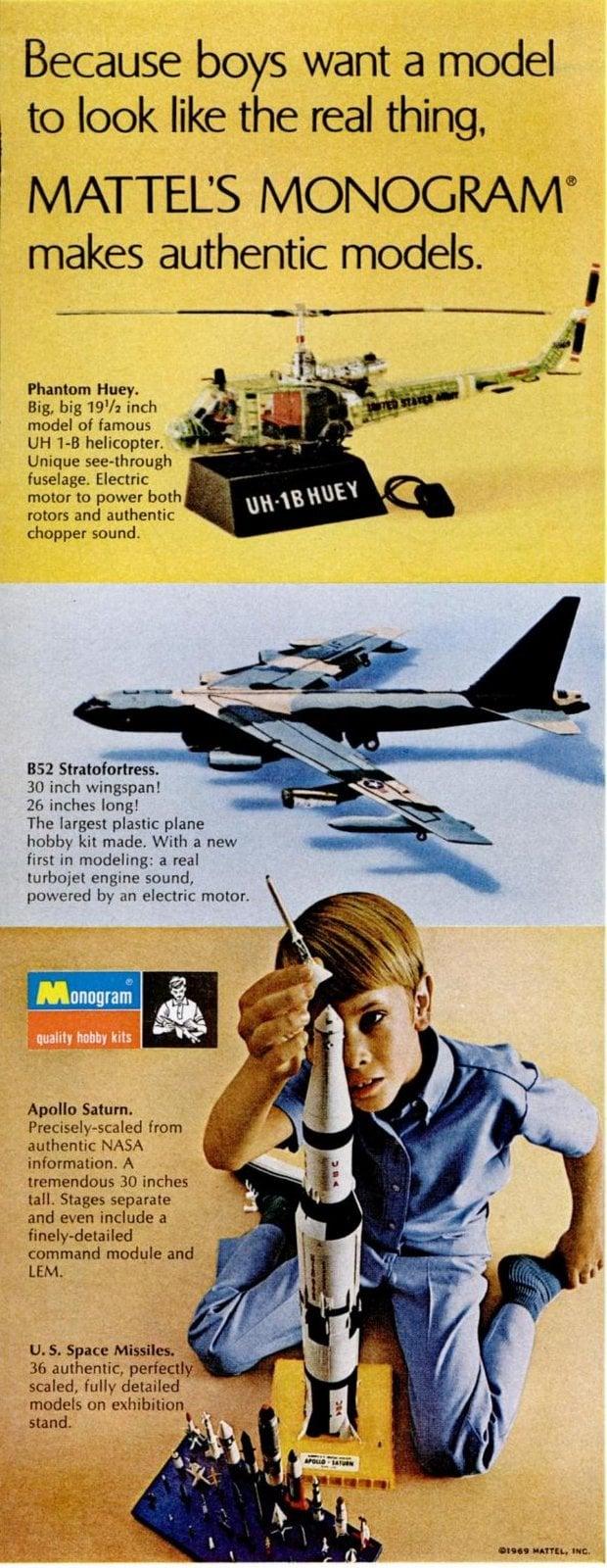 Nov 14, 1969 Mattel toys