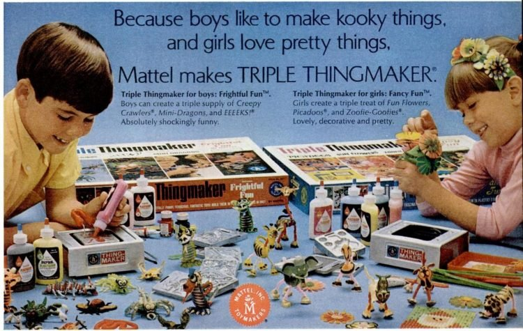 Nov 14, 1969 Triple Thingmaker toys