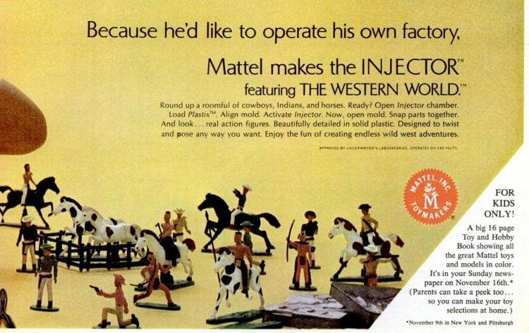 Nov 14, 1969 Vintage Mattel toys