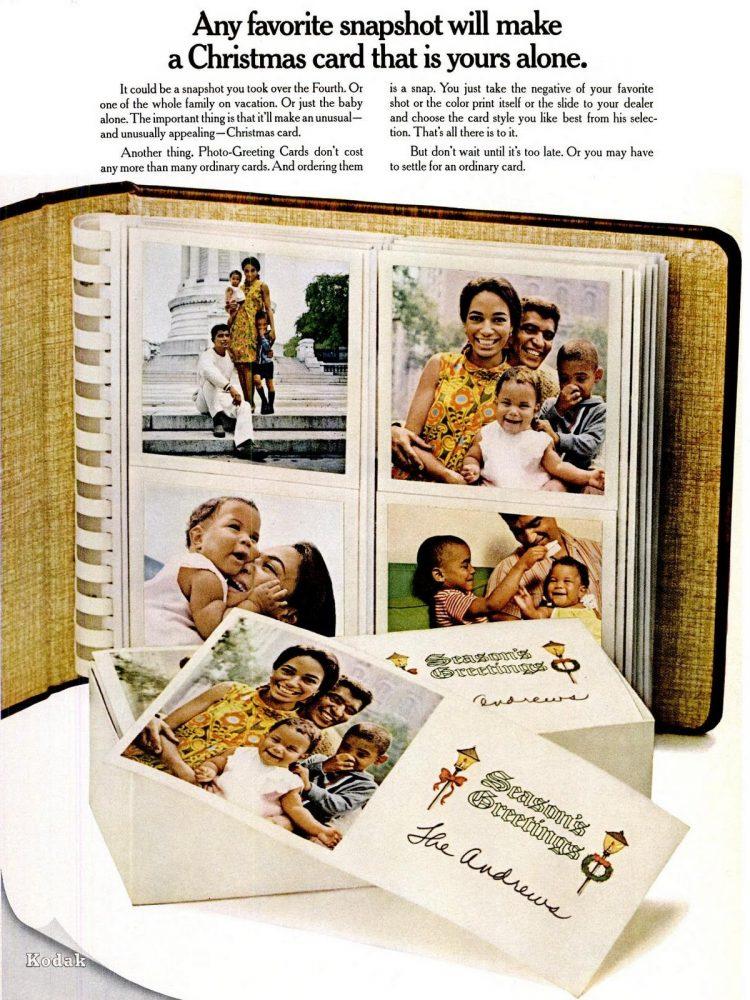 Nov 1967 Christmas cards