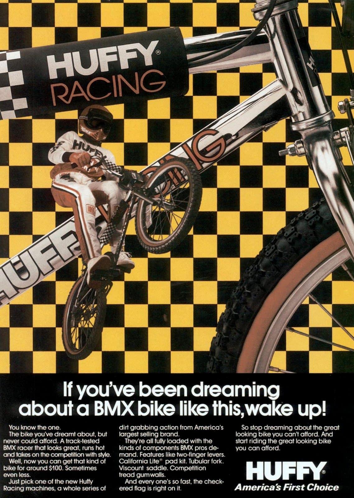 Nov 1983 Huffy BMX bikes