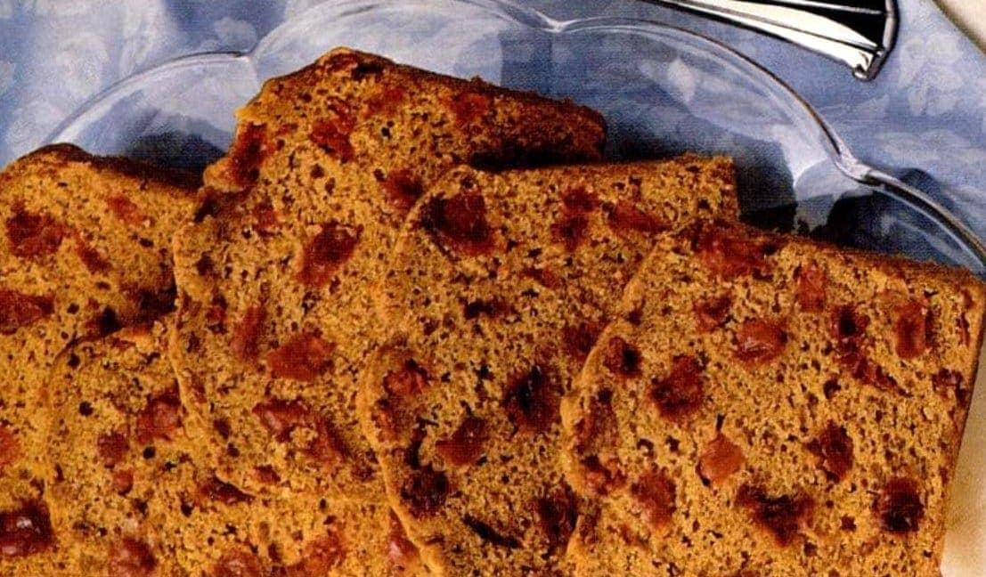Cranberry-pumpkin bread retro recipe