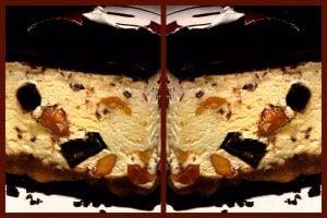 Nutty chocolate caramel bars retro recipe