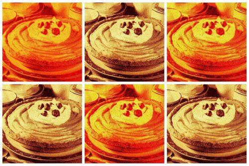 Nutty pumpkin eggnog pie (1972)