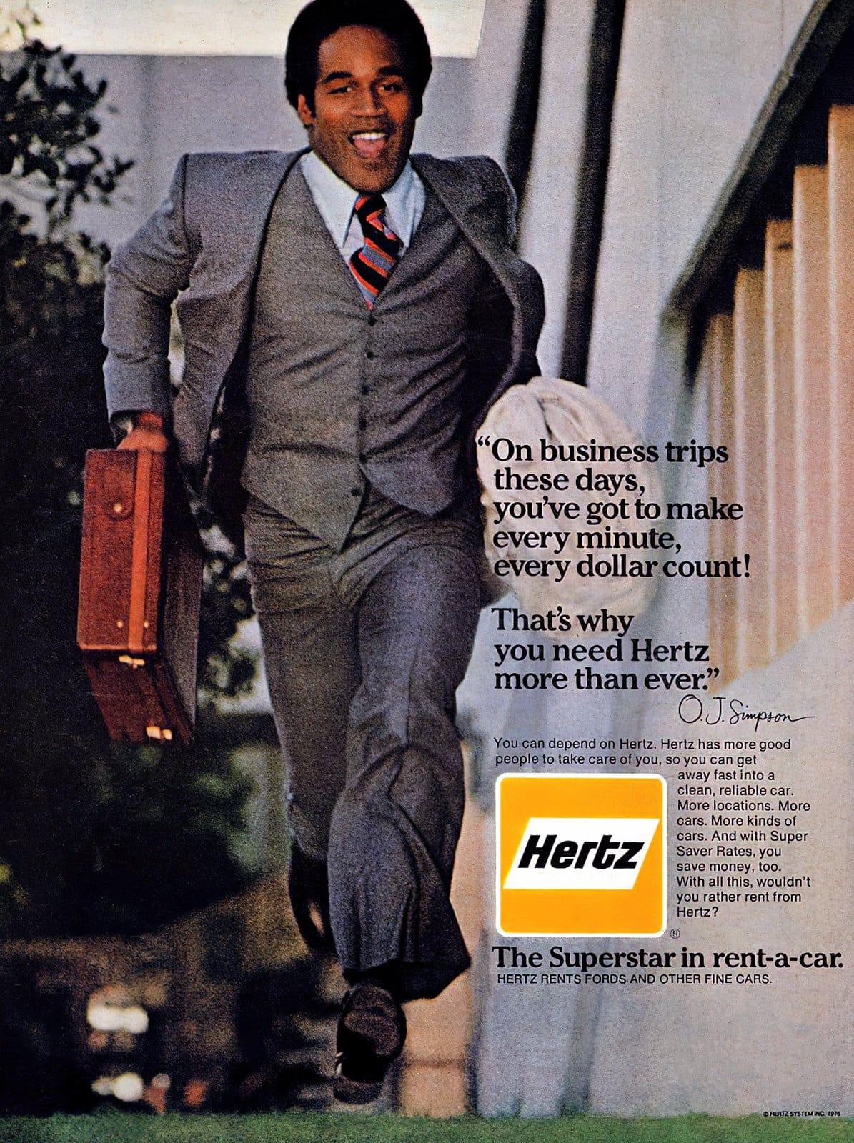 OJ Simpson for Hertz (1976)