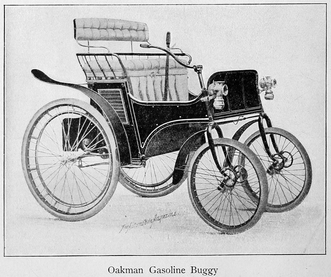 Oakman gasoline buggy (1900)