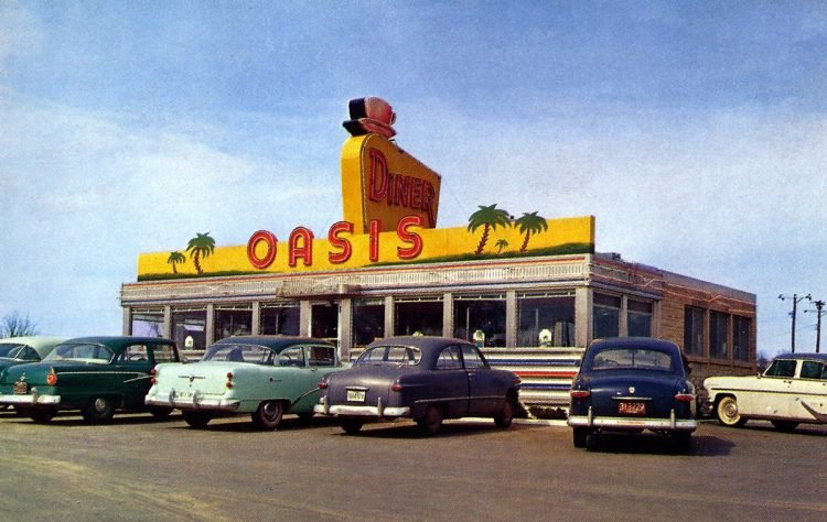 Oasis Diner - Plainfield, Indiana
