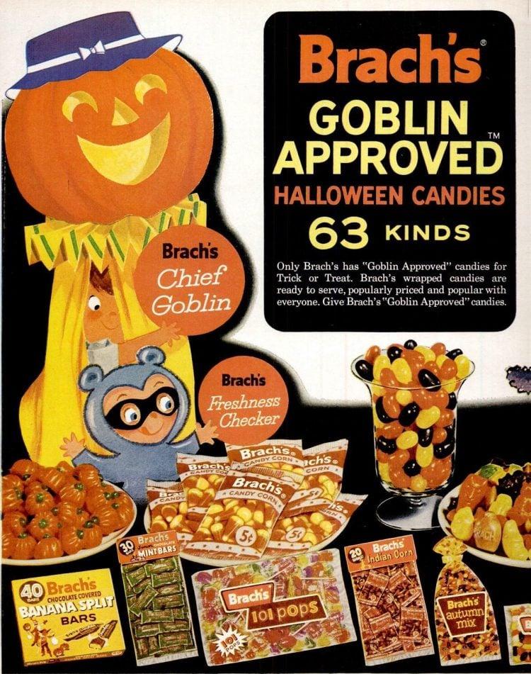 Oct 18, 1963 Brach's vintage Halloween candy