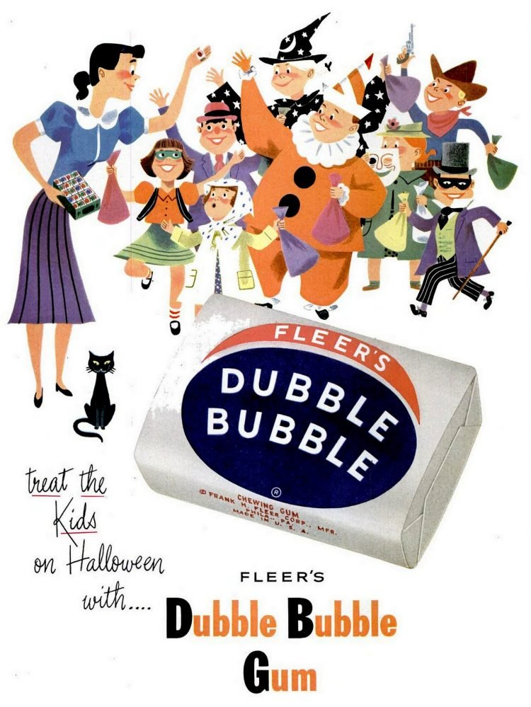 Oct 27, 1952 Halloween gum