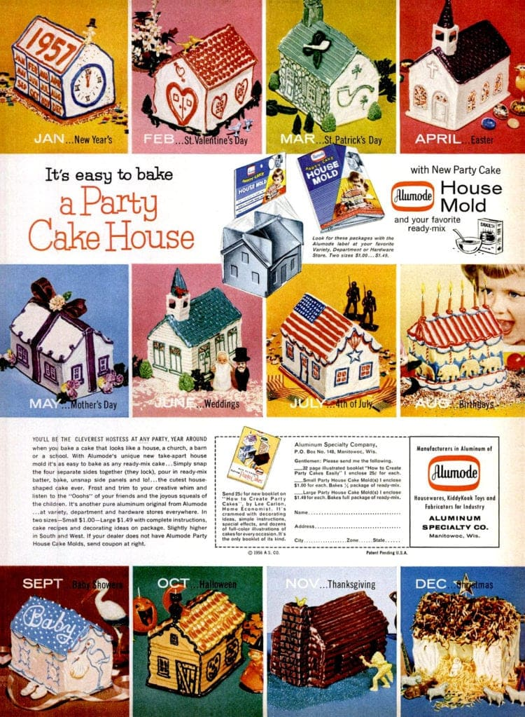 party cake house decorating designs