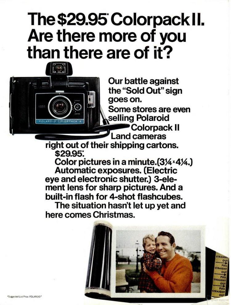 Oct 31, 1969 Polaroid camera