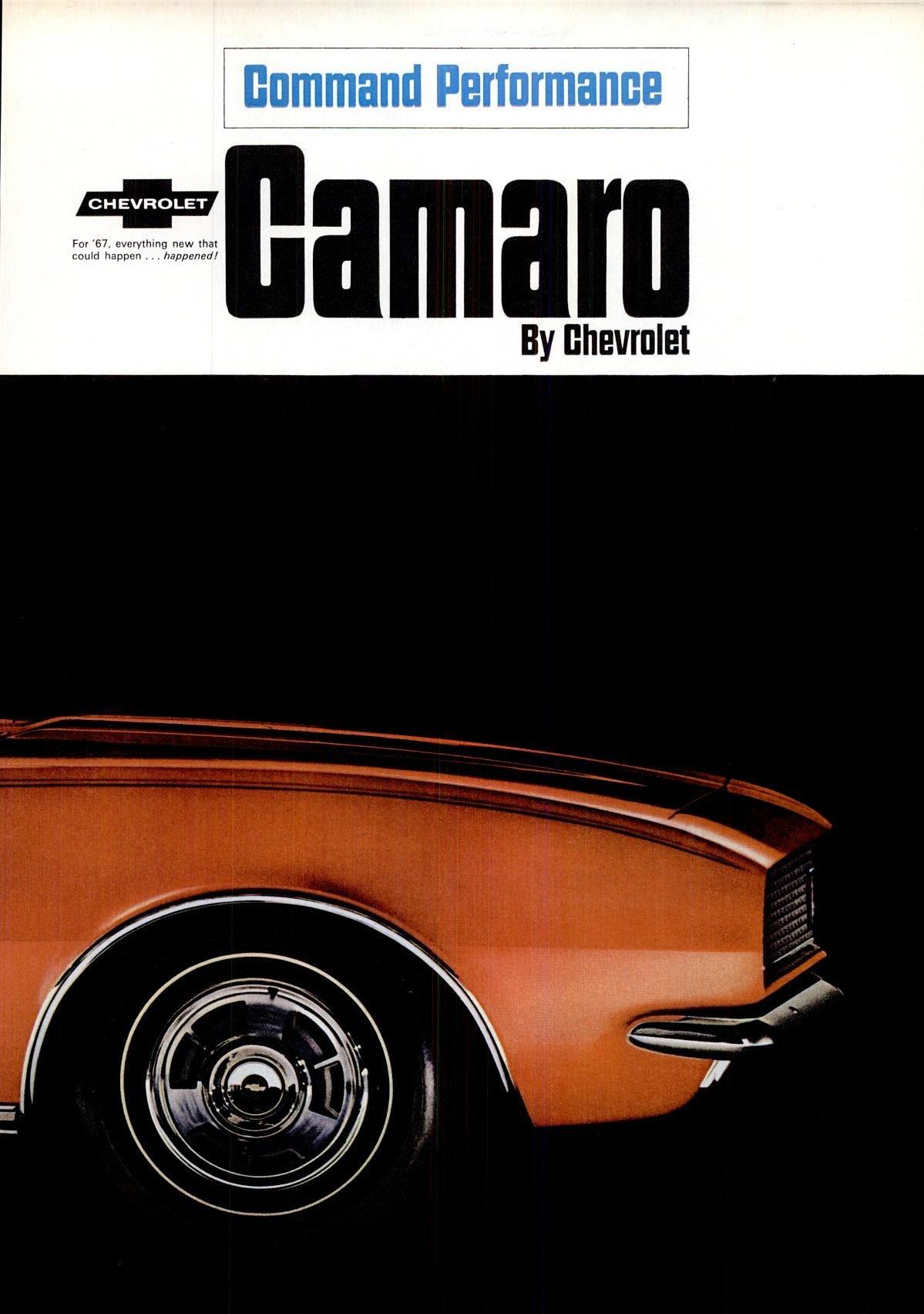 Oct 7, 1966 - Classic 1967 Camaro cars (1)