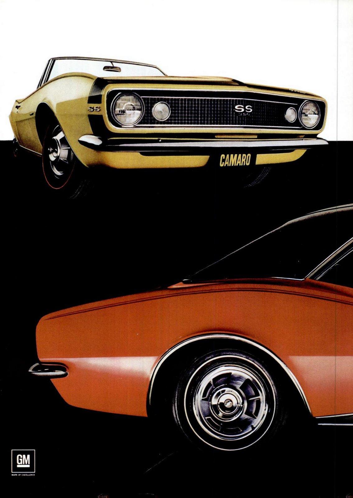 Oct 7, 1966 - Classic 1967 Camaro cars