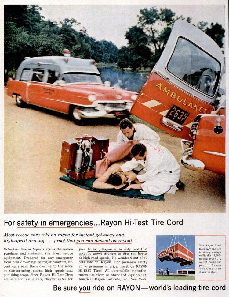 Oct 8, 1956 ambulance