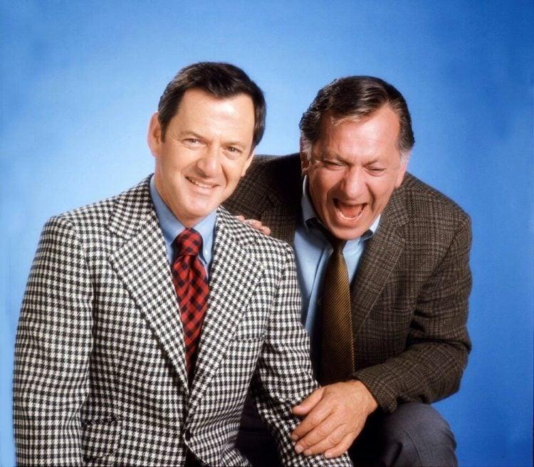 Odd Couple original TV show main cast