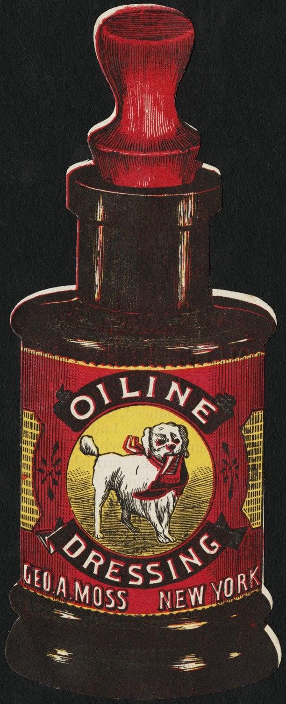 Oiline Dressing 1880s
