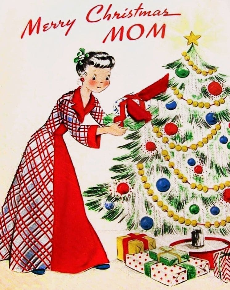 Old '50s Christmas cards (1)
