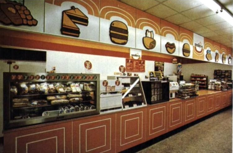 Old 7-11 convenience stores from 197