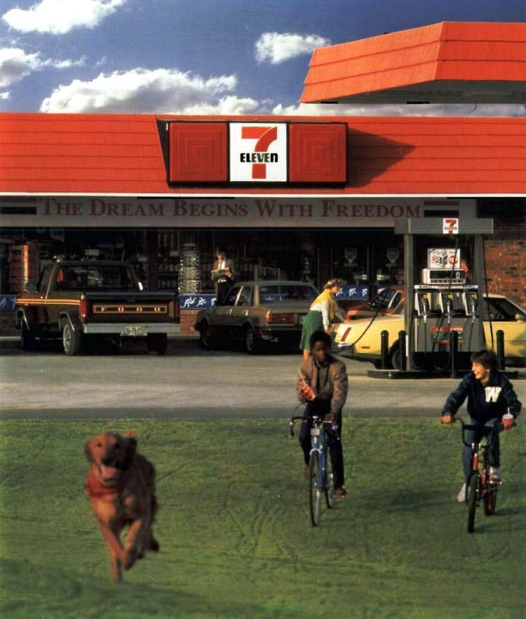 Old 7-Eleven store exteriors from the 80s - 1983 (1)