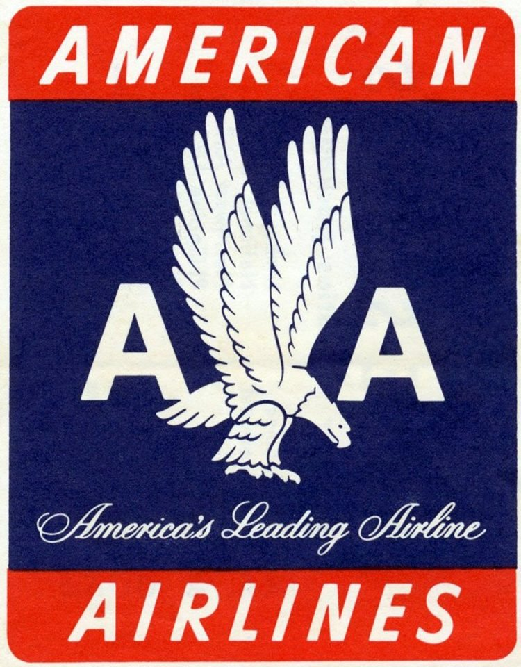 Old American Airlines logo