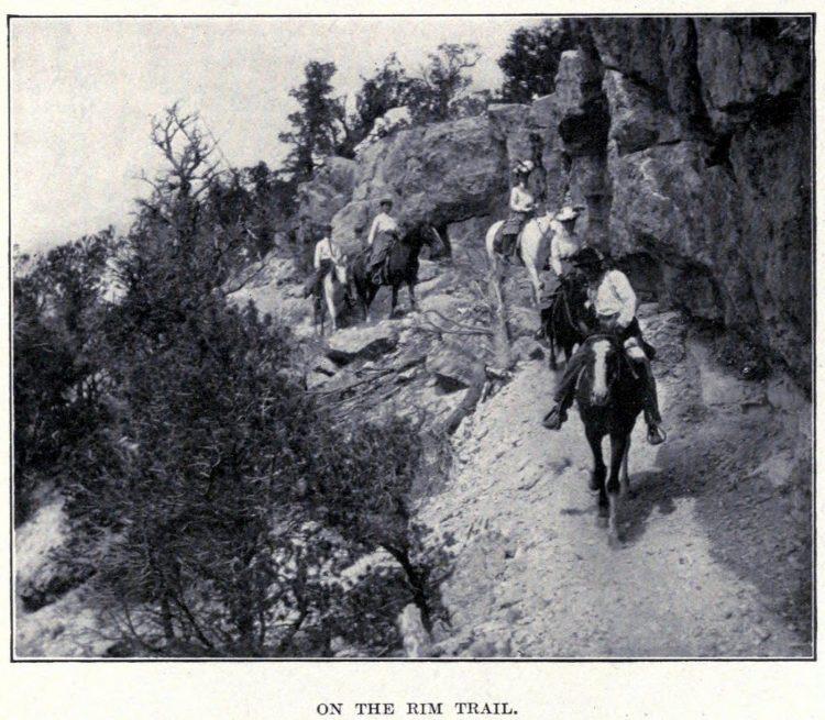 Old Arizona - Grand Canyon rim trail