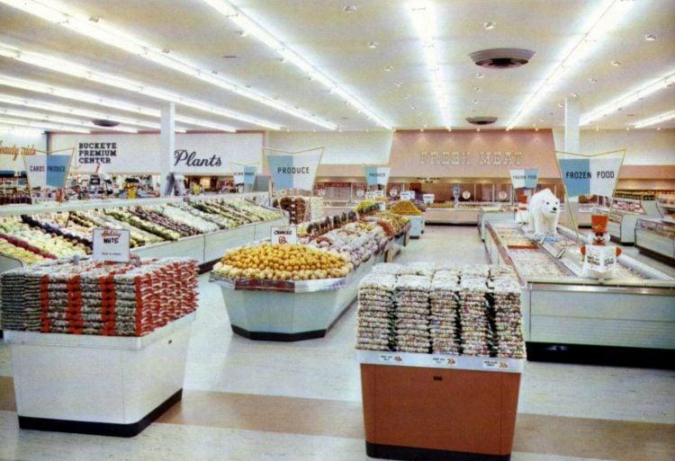 Old Big Bear supermarket - 1960 5