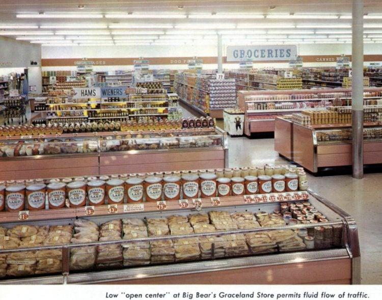 Old Big Bear supermarket - 1960 9