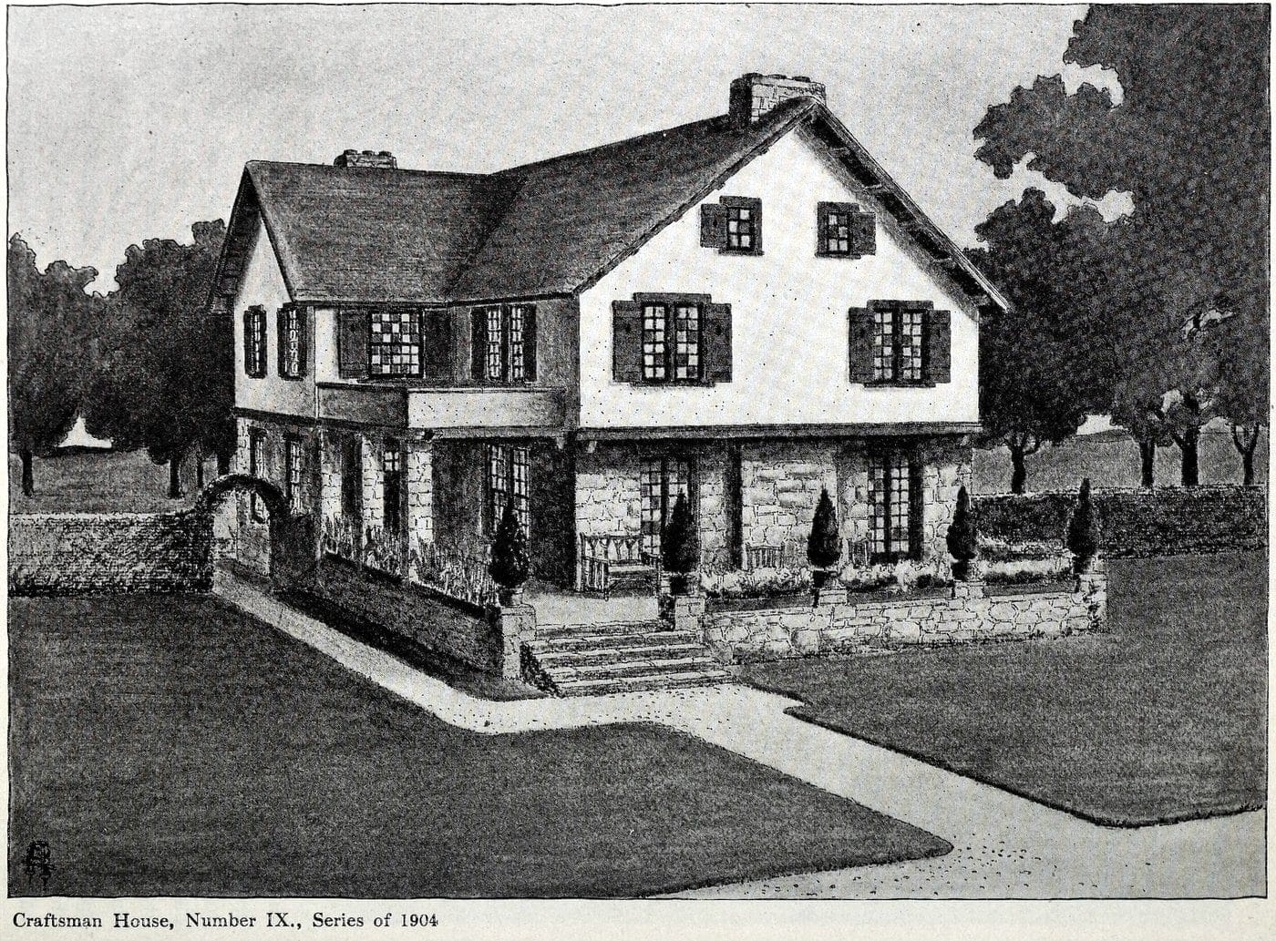 Old Craftsman-style home (24)