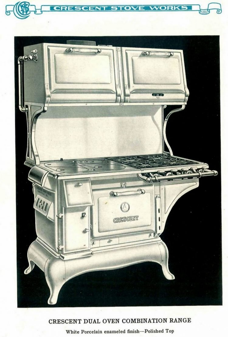Old Crescent kitchen ranges from 1924 (2)