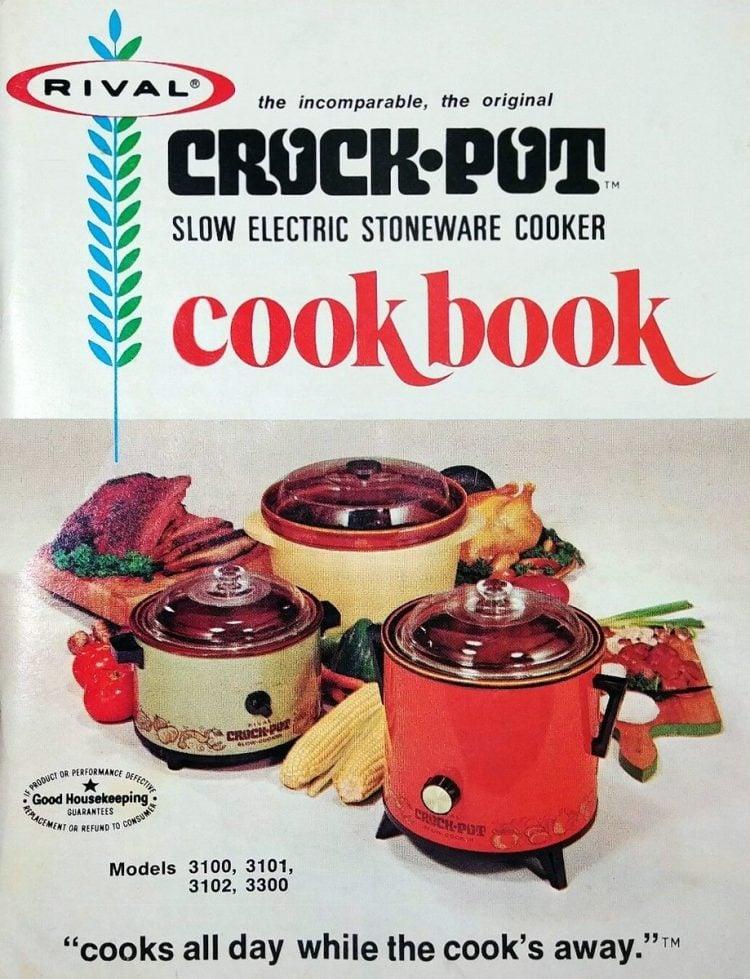 Old Crock Pot cookbook cover
