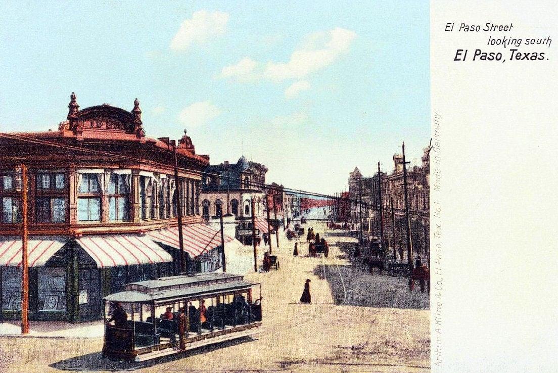 Old El Paso Texas - 1910s