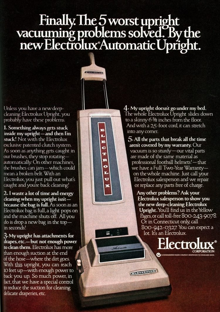 Old Electrolux vacuum from 1979