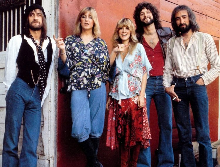 Old Fleetwood Mac - Band in the late seventies