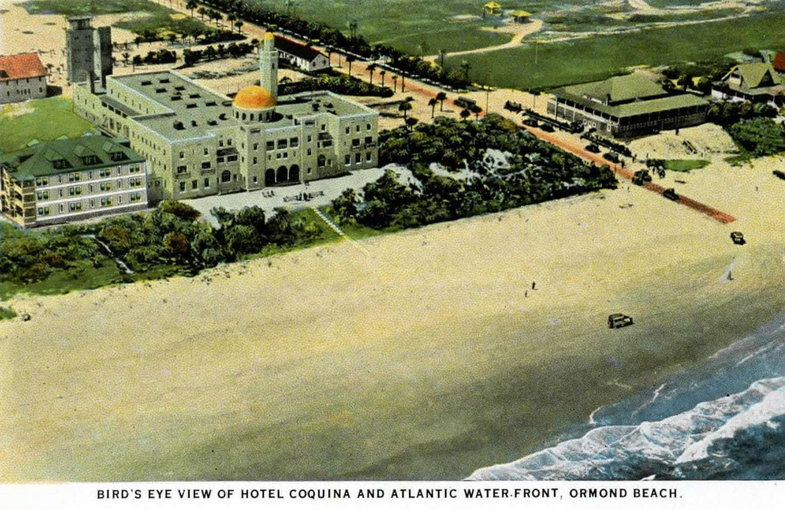 Old Florida Hotel Coquina and Ormond Beach