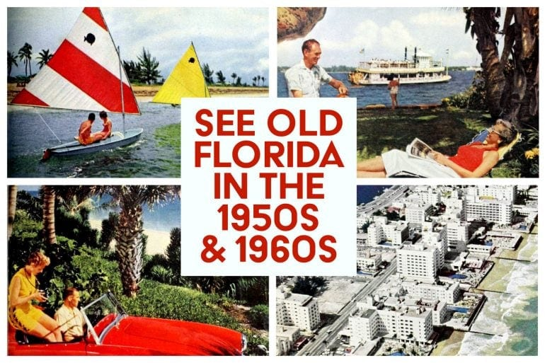 Old Florida in the 1950s and 1960s