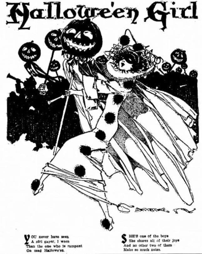 Old Halloween parties from 1910 (3)