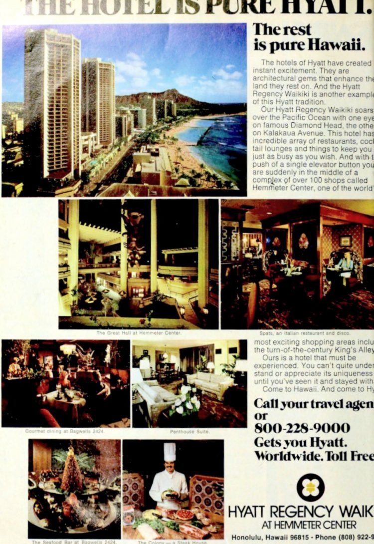 Old Hawaii - Hyatt Regency Waikiki