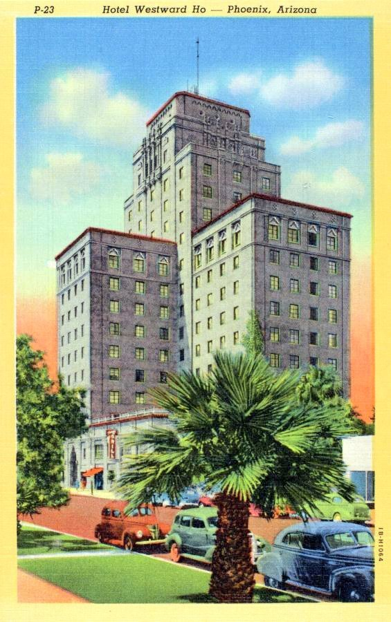 Old Hotel Westward Ho in Phoenix Arizona - 1940s