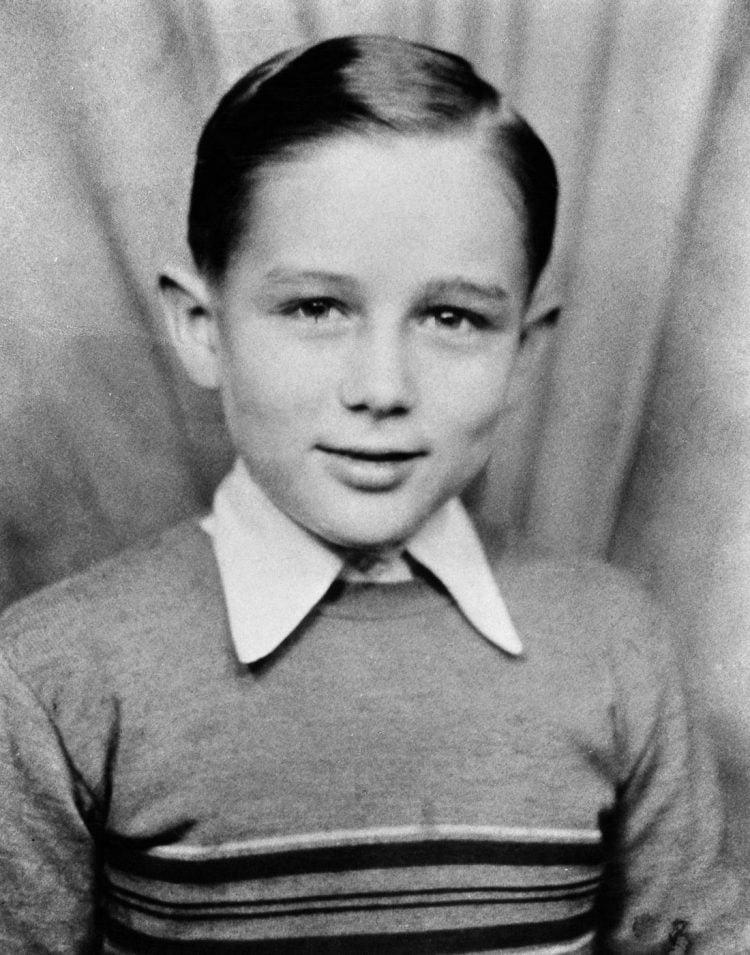 Old James Dean school portrait