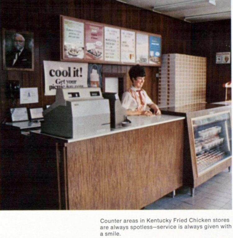 Old KFC Kentucky Fried Chicken restaurants in the sixties (4)