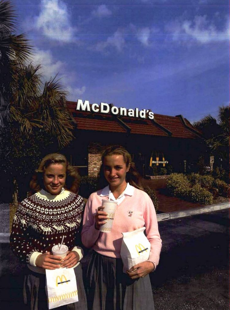Old McDonald's resturants in the 1980s (6)