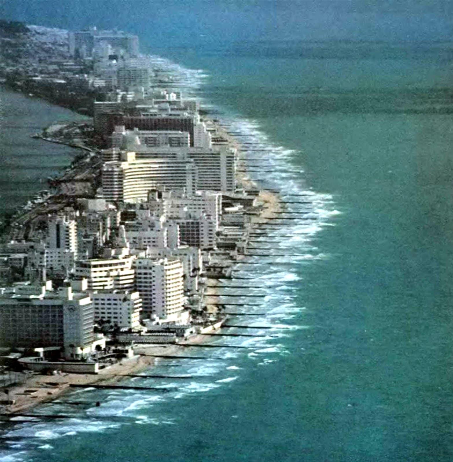 Old Miami Florida in 1967