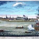 Old New Amsterdam - New York 1739