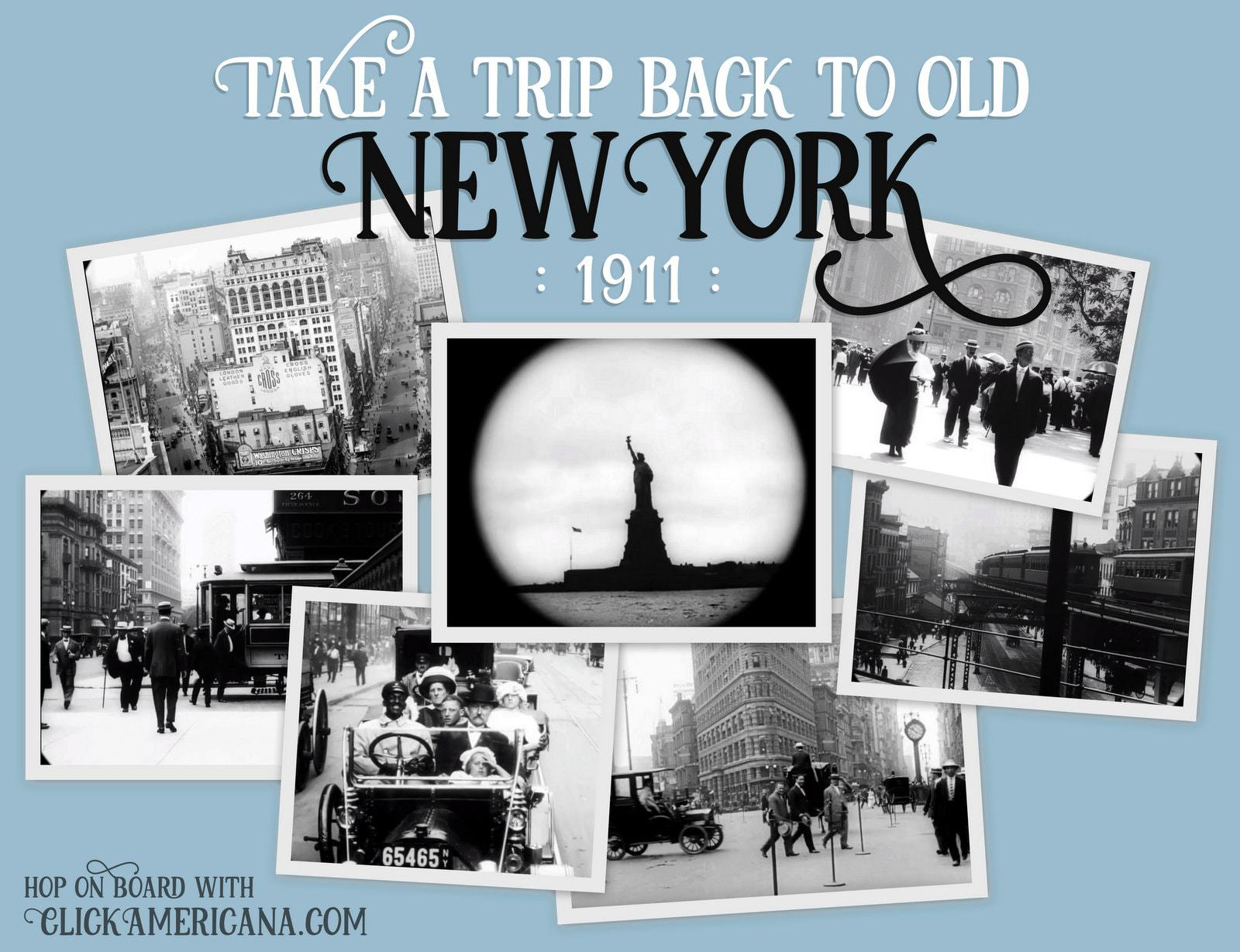 Old New York in 1911 - Film footage