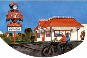 Old Next Door Restaurant from 1971